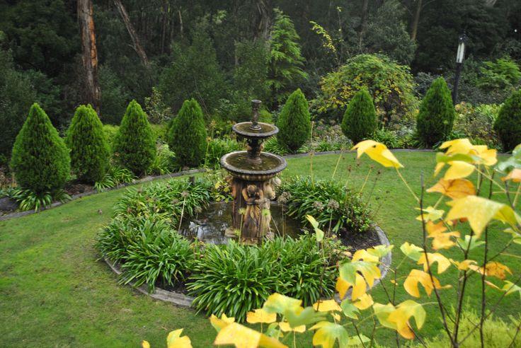 Melbourne, Australia, Belgrave garden