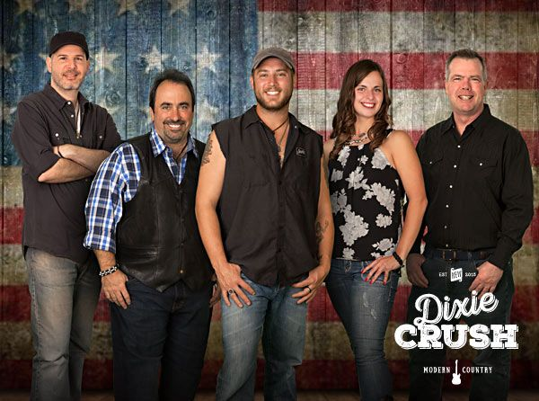 Modern, Top 40 Country Cover Band Dixie Crush is a high-energy, country party band from the Midwest that performs the biggest Top 40 Hits of Today's Country Music.