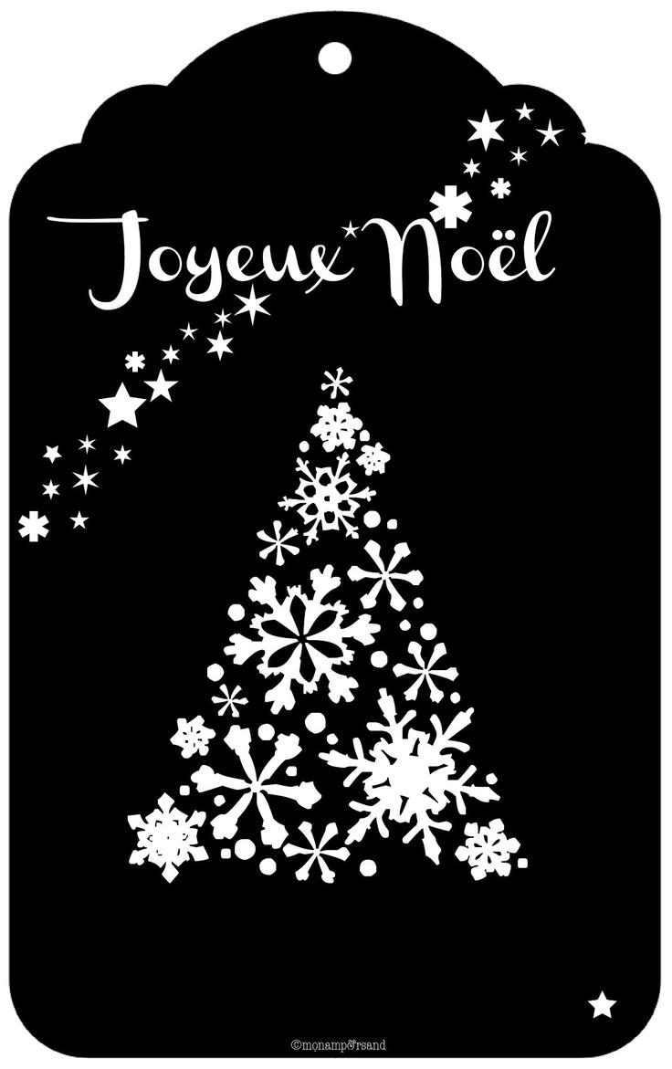 Joyeux Noël ! (étiquettes cadeaux) | Mon ampersand