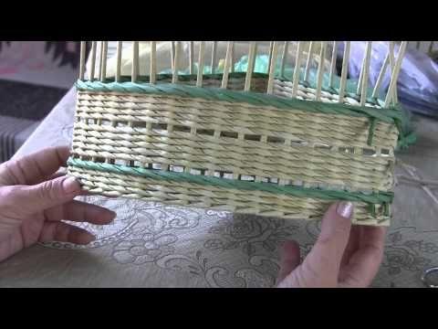 """Como se teje el dibujo """"Patas de ganso"""". Vídeo tutorial de Natalia Sorokina del ciclo de tejer dibujos de tubitos de periódicos. En este vídeo la maestra mos..."""