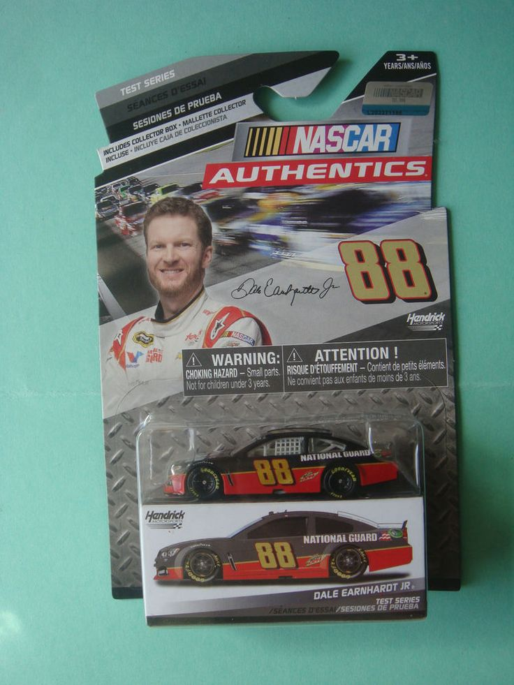 1/64 DALE EARNHARDT JR  #88 TEST SERIES NASCAR AUTHENTICS