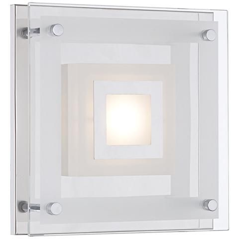 """Reese 8"""" Wide Glass LED Wall Sconce"""