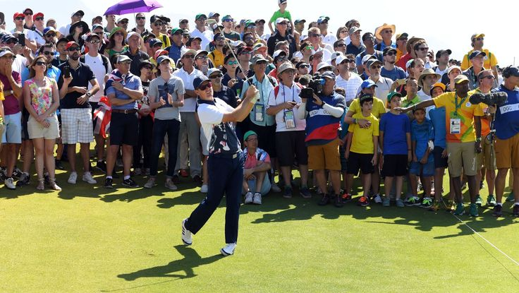 England's Rose claims gold in return of Olympic golf:  August 14, 2016  -     Justin Rose claims gold in return of Olympic golf