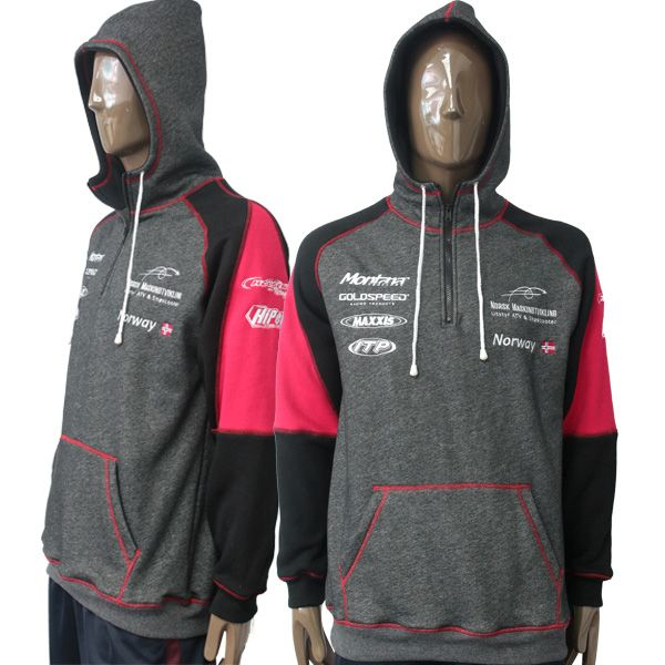 Aoxiang Athletic Sports Sweater Hoodie adopts fashinable contract color design, combined with the unique zipper design, absolutely remarkable. http://www.axfz86.com/Products/AthleticSportsSweate.html
