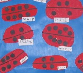 Ladybird Maths doubles