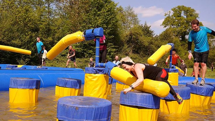 Just Kicking It: Ever Wanted to be on Wipeout or Takeshi's Castle