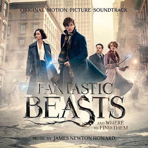 BSO: fantastic beasts and where to find them (Animales fantásticos y donde encontrarlos) - 2016.