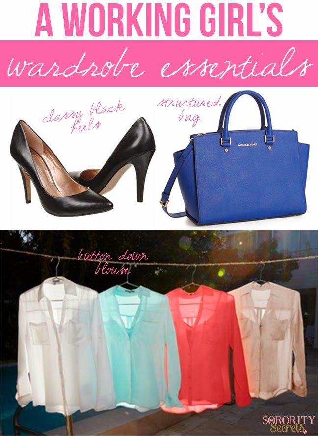 The Sorority Secrets: A Working Girl's Wardrobe Staples