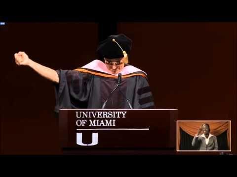 Dr. Buffett - University of Miami 2015 Commencement Address - YouTube
