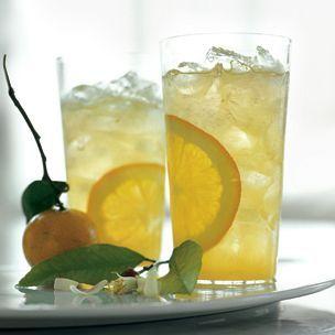 Orange Blossom Gin Fizz