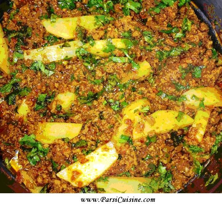 DINNER: Spicy Mince like Chilli - Jamshed's Kheemo