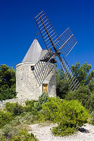 Windmill of Boulbon, Provence, France