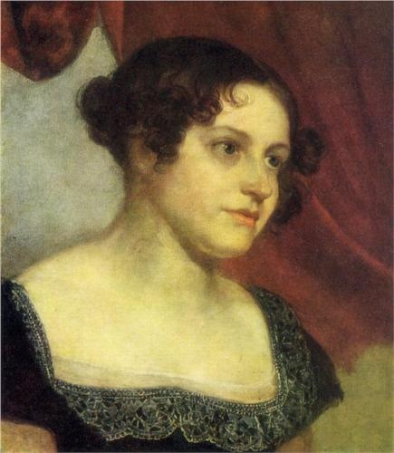 Orest Kiprensky - Portrait of Anna Furman
