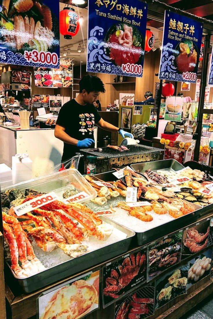 Osaka Guide: Kuromon Ichiba Market and Sennichimae Kitchenware Street