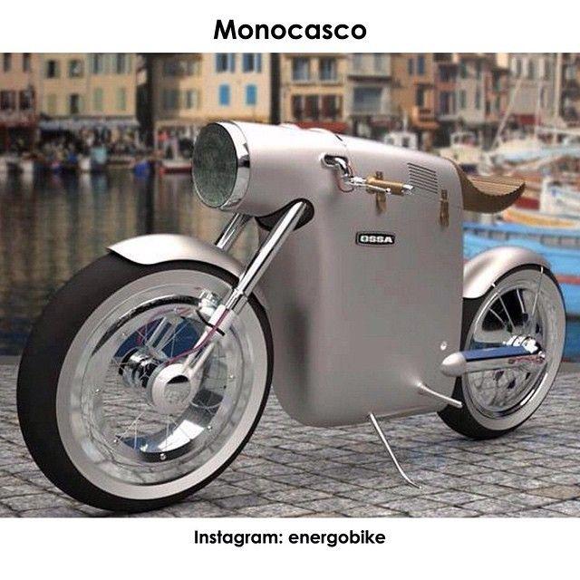 Monocasco Автора концепта Monocasco вдохновил старый байк OSSA в 250 лошадиных сил, который стал знаменит благодаря гонщику Сантьяго Герреро.Основа мотоцикла - электрический двигатель, поэтому водителю можно не беспокоиться о выхлопах и затратах топлива. #instabike #biker #motorbike #bikelife #bike #moto #motogp #motorbike #sportbike #motolife #superbike #bikestagram #electricmotorcycle #electricbike #cycle #instamoto #instabike #monsterenergy #motocycle #supermoto #electrobike #мото…