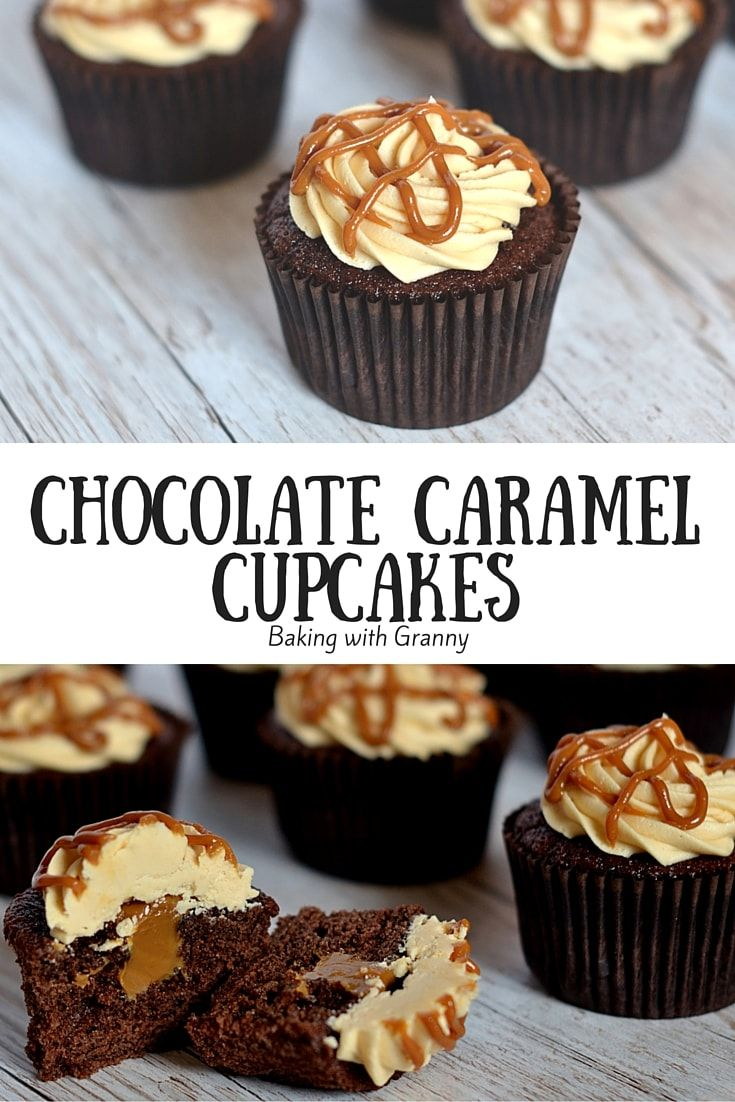 Who knew caramel could be so easy? These Chocolate Caramel Cupcakes take sweetness to a new level.