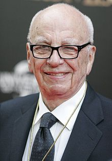 Rupert Murdoch (1931 - ) - an Australian-born American media proprietor. Murdoch became Managing Director of Australia's News Limited, inherited from his father, Sir Keith Arthur Murdoch, in 1952.