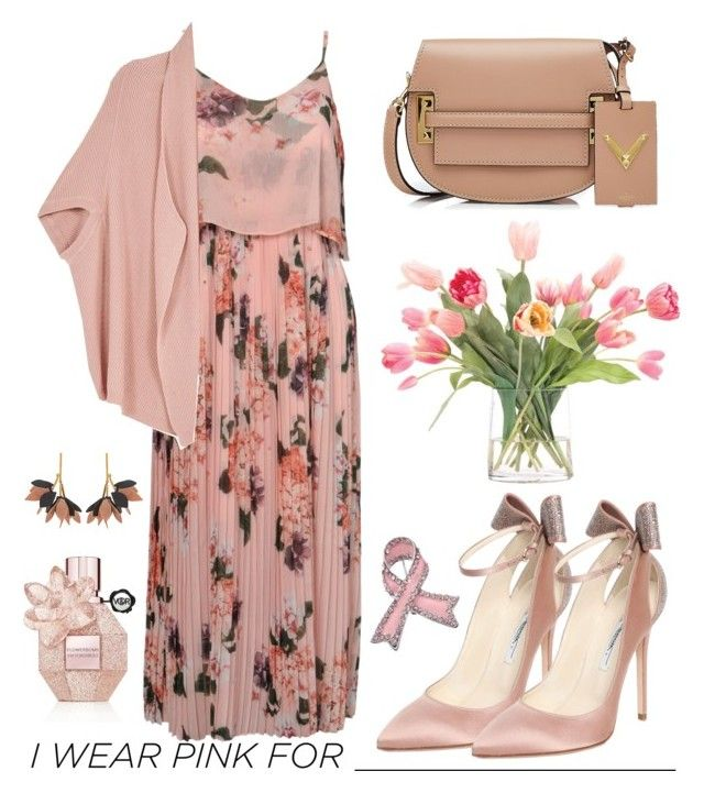 """Untitled #210"" by mydntkrl ❤ liked on Polyvore featuring Urban Touch, Melissa McCarthy Seven7, Marni, Brian Atwood, NDI, Valentino, Viktor & Rolf, IWearPinkFor and plus size clothing"