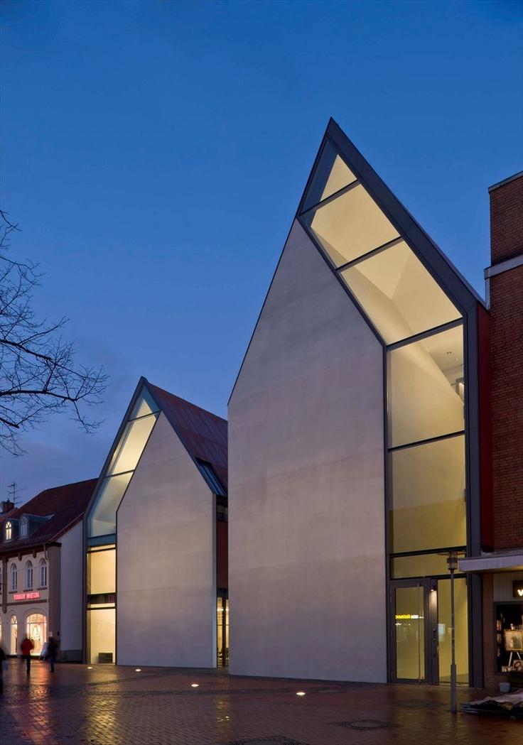 New building Volksbank, Gifhorn, 2009 by Stephan Braunfels architekten