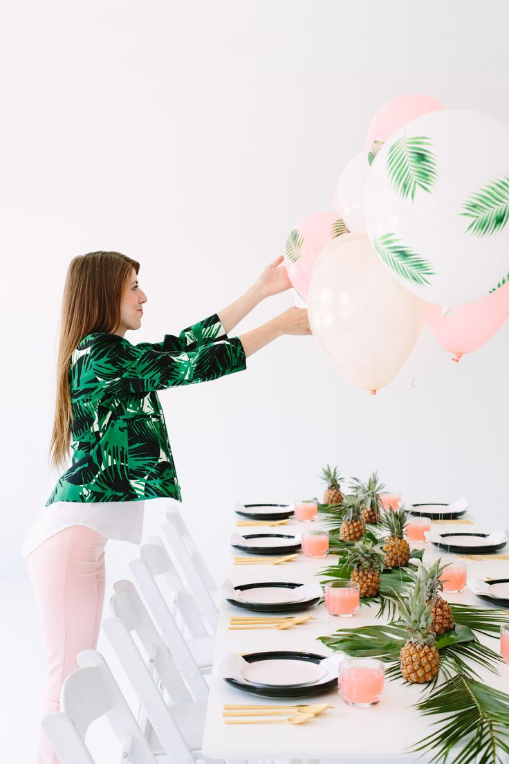 10 best Ideas... images on Pinterest   Tropical party, Dinner ...