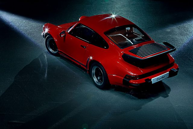 1986 Porsche 911 3.3 turbo