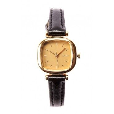 Classic women's Money Penny wrist watch in nlack from Komono are now available online ... just $79!