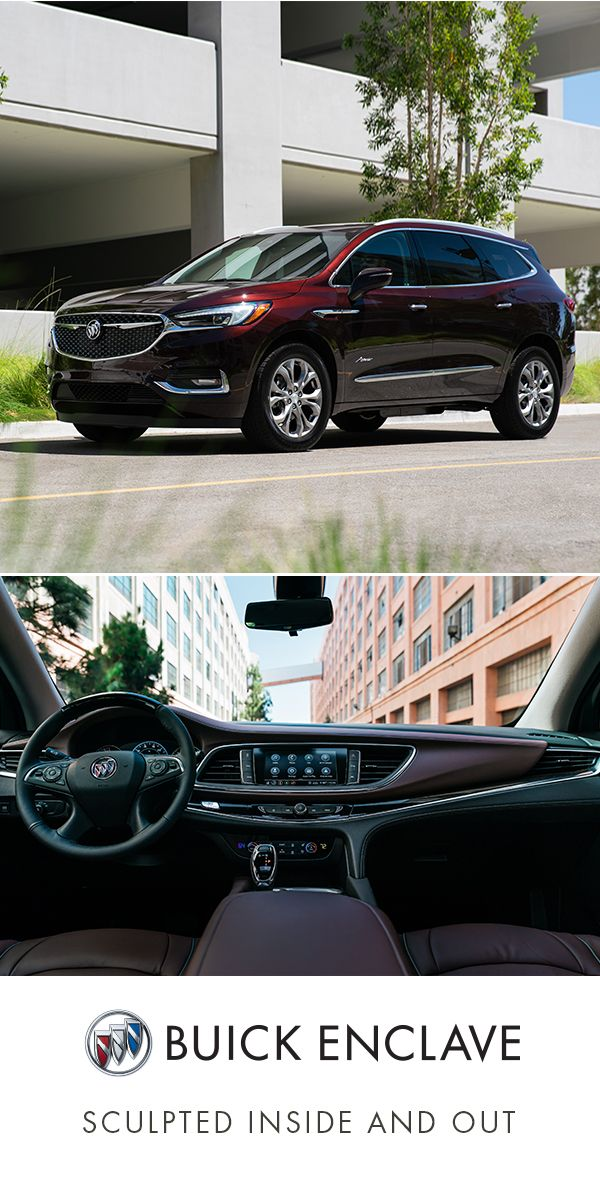 All Around Refinement Is All Yours In The Buick Enclave In 2020 Buick Enclave Buick Luxury Suv