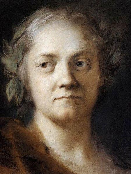 Autoritratto-1740/1745-Rosalba Carriera-pastello-Venezia-Gallerie dell'Accademia