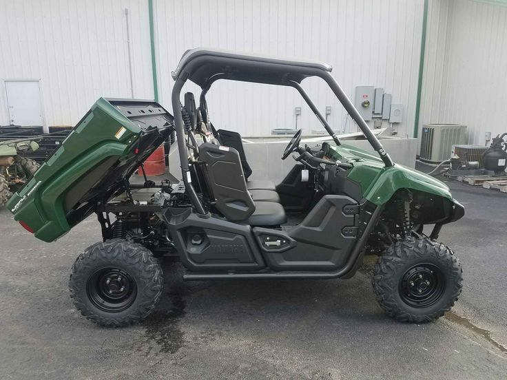 New 2016 Yamaha VIKING GREEN YXM70VDXGG ATVs For Sale in Illinois. 2016 YAMAHA VIKING GREEN YXM70VDXGG, Contact our Sales Department today , Toll Free , or view our entire inventory , seating for three, supple suspension, and a large dump bed. It is the perfect Sport/Utility Side x Side that is right at home working on the farm or construction site, or out playing with friends. Come see 'The Good Guys' and let us show you why you should choose the Yamaha Viking.
