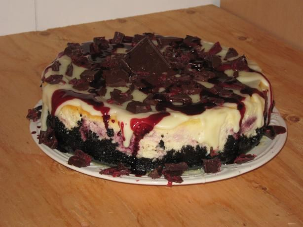 Raspberry Truffle Cheesecake (Copycat) from Food.com: This is a copycat recipe from TSR for the Raspberry Truffle Cheesecake from The Cheesecake Factory Cook time includes refrigeration/cooling time.