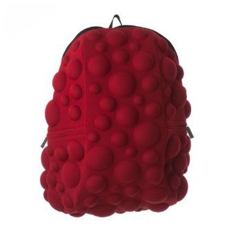 Amazon.com: MadPax Luggage Bubble Fullpack Bag, Hot Tamale, One Size: Clothing my backpack for school.
