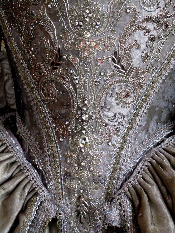. . . Villarceaux -18th century dress by Olivier Henry