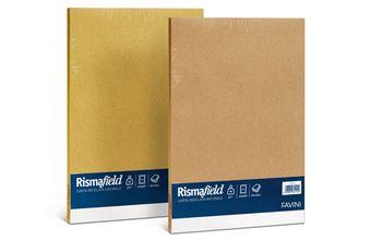 Risma Field  Carta riciclata multiuso, dai colori naturali e piacevole al tatto. 2 colori disponibili.  A4 21x29,7 cm 100 fogli - 90 g/m2