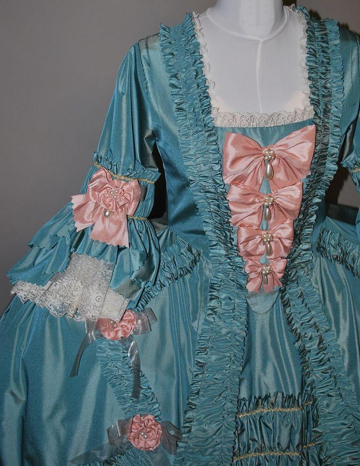 Pompadour Style Robe a la Francaise | Starlight Masquerade