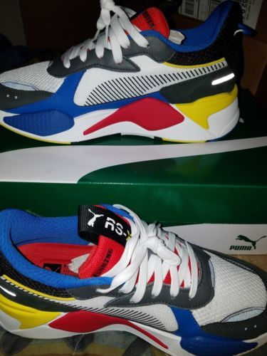 f49860f93f0 Details about New PUMA RS-X Toys Sneakers Shoes- White Royal Red ...