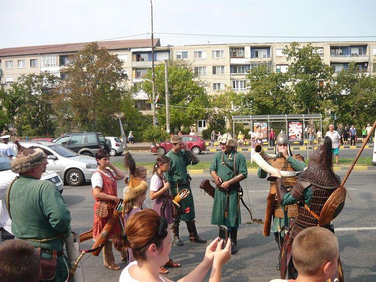 Oradea - Flowers carnival starts.