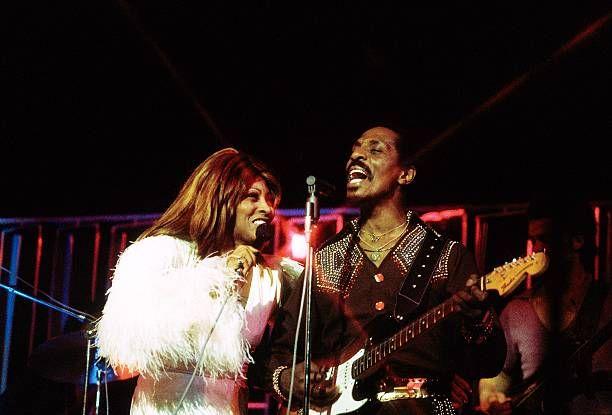 Tina Turner with now ex-husband Ike Turner