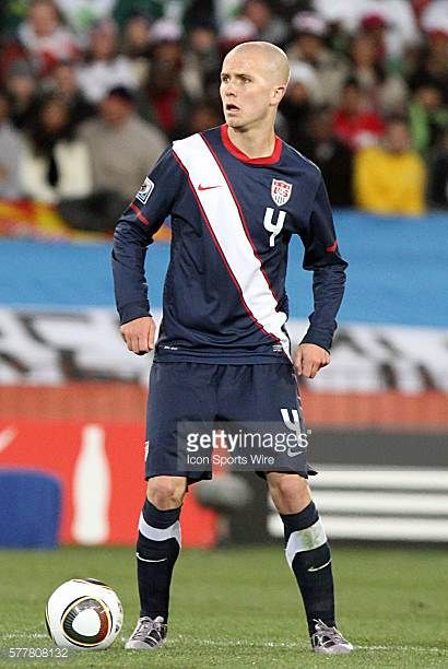 Michael Bradley The Slovenia National Team tied the United States National Team 22 at Ellis Park Stadium in Johannesburg South Africa in a 2010 FIFA...