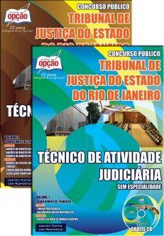 Apostila Concurso Tribunal de Justiça do Estado do Rio de Janeiro - TJ/RJ - 2014: - Cargo: Técnico de Atividade Judiciária - sem Especialidade