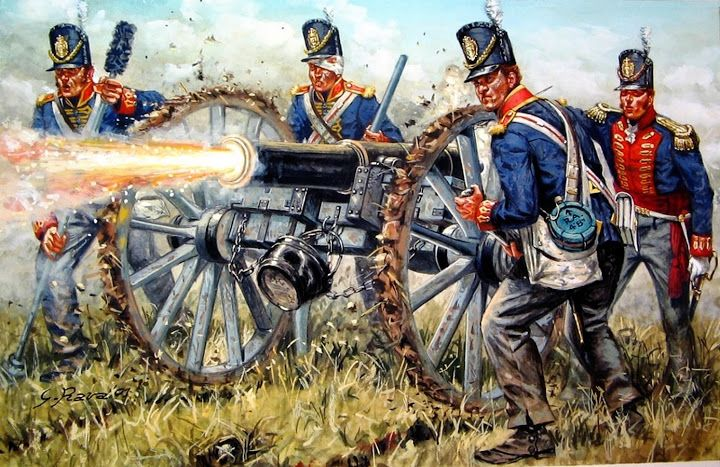 Royal Artillery 1815. Más en www.elgrancapitan.org/foro