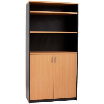 Beech / Ironstone Wall Unit   http://keenoffice.com.au/product/beech-ironstone-wall-unit/