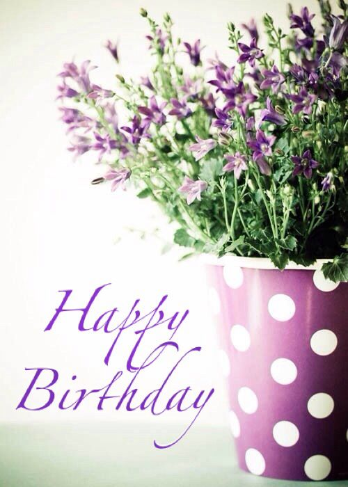 1000 images about Happy birthday flower – Birthday Cards with Flowers