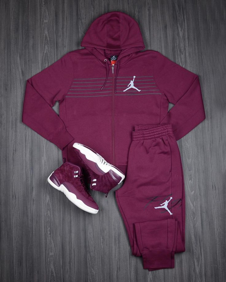 """130.9k Likes, 450 Comments - Foot Locker (@footlocker) on Instagram: """"Take Flight in the Air #Jordan 12 Bordeaux Flight Collection. Available in stores now."""""""