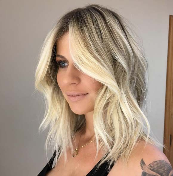 Amazing 1000 Ideas About Blonde Waves On Pinterest Bronde Balayage Short Hairstyles For Black Women Fulllsitofus