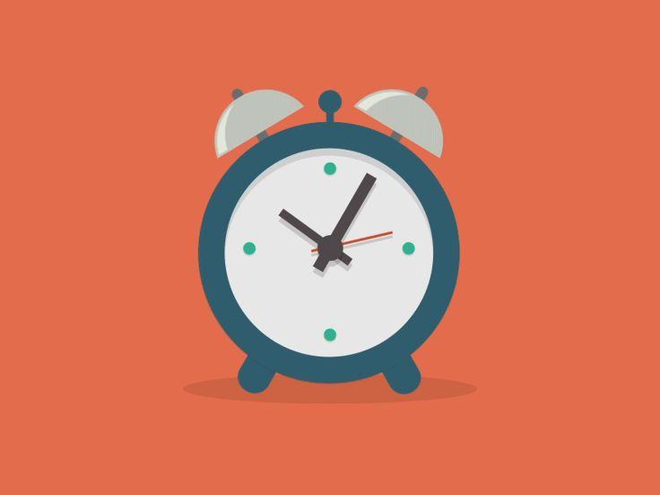 Alarm Clock [GIF] by Daan De Deckere