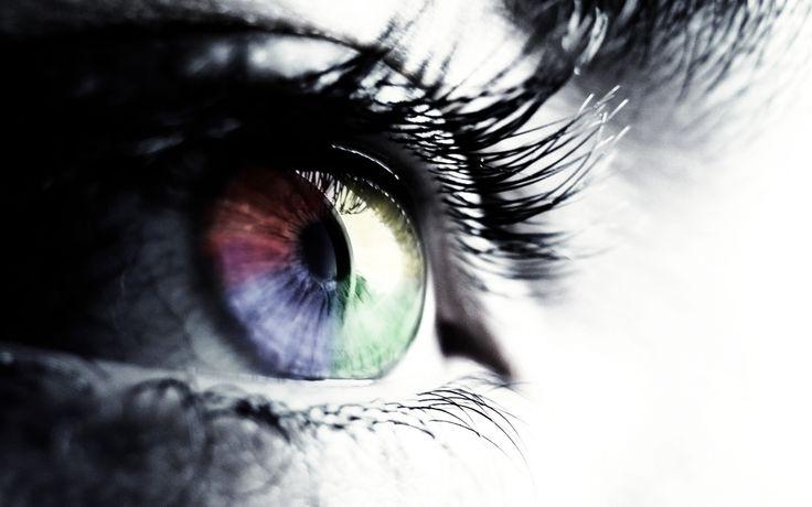 Rainbow colours eye 1920×1200