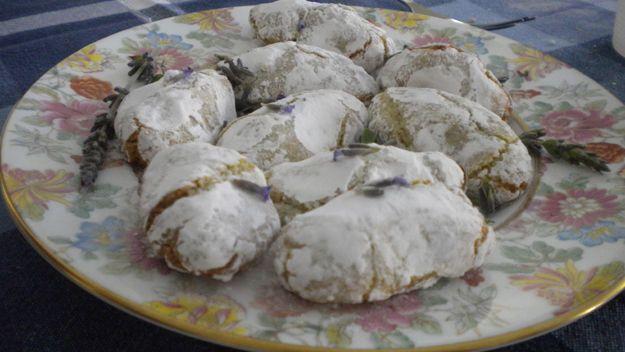 Pistachio and almond biscuits ( Maltese recipe)