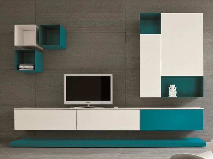 Scarica il catalogo e richiedi prezzi di Slim 1 By dall'agnese, parete attrezzata componibile con porta tv design Imago Design, Collezione slim