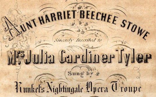 dedication to Julia Gardiner Tyler: Historical Theme, Gardiner Tyler, John Tyler, American Poetry, Julia Gardiner, Popular Songs, 1845 Julia, Antebellum Popular, 1St Ladies