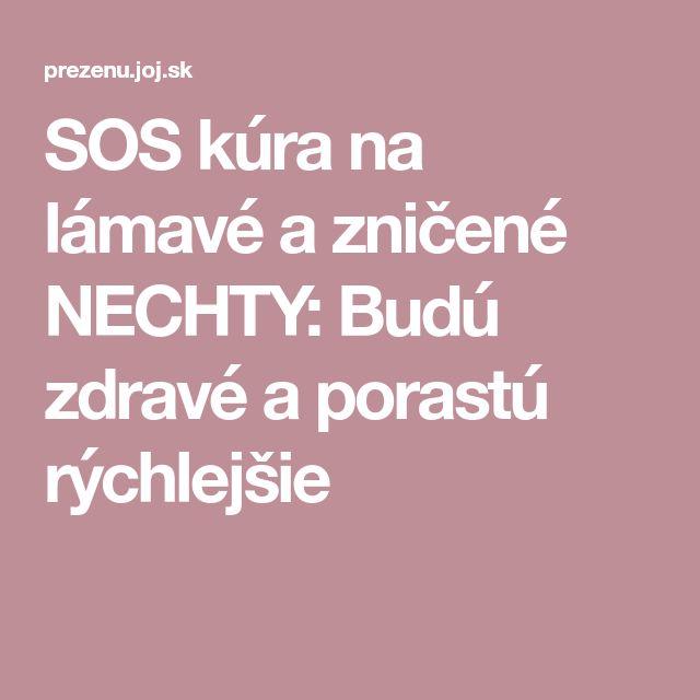SOS kúra na lámavé a zničené NECHTY: Budú zdravé a porastú rýchlejšie